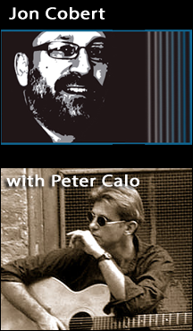 Live Music with Jon Cobert with Peter Calo