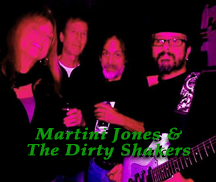 Live Music with Martini Jones & The Dirty Shakers