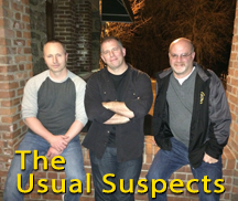 Live Music with The Usual Suspects - Jason Smith, John Ryan & Jim Meyer